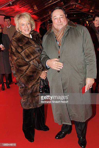 Bechara ElKhoury and his wife Alexandra arrive at the Arop Gala event for Carmen new production launch at Opera Bastille on December 13 2012 in Paris...