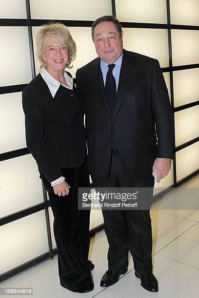 Bechara ElKhoury and his wife Alexandra attend the Arop Gala event for Carmen new production launch at Opera Bastille on December 13 2012 in Paris...