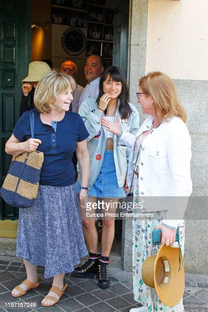 Bechet Dumaine Allen is seen on June 20 2019 in Madrid Spain