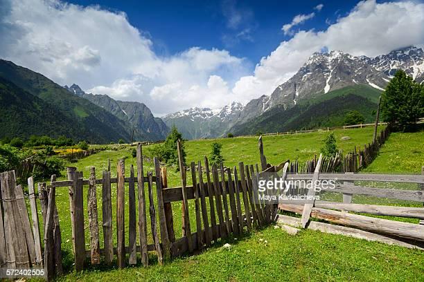 Becho valley, Caucasus mountain