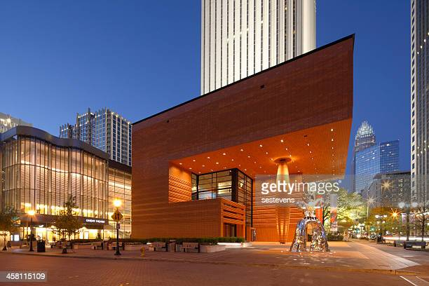 bechtler museum of modern art - charlotte north carolina stock photos and pictures