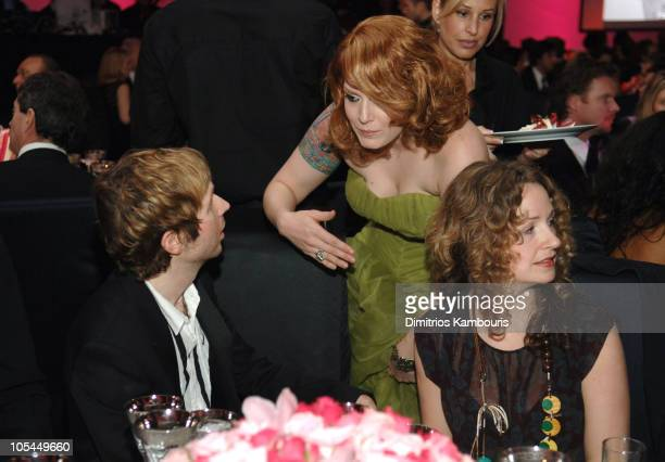 Beck Ana Matronic of Scissor Sisters and guest during 13th Annual Elton John AIDS Foundation Oscar Party Cohosted by Chopard Inside at Pacific Design...