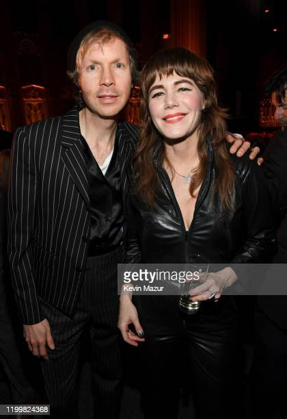 Beck and Jenny Lewis attend CORE Gala A Gala Dinner to Benefit CORE and 10 Years of LifeSaving Work Across Haiti Around the World at Wiltern Theatre...