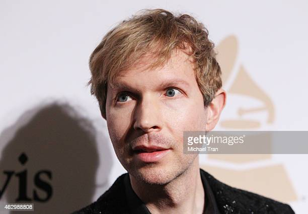 Beck arrives at The Grammy Awards PreGrammy Gala held at The Beverly Hilton Hotel on February 7 2015 in Beverly Hills California