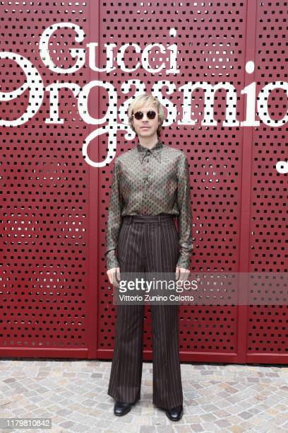Beck arrives at the Gucci show during Milan Fashion Week Spring/Summer 2020 on September 22 2019 in Milan Italy