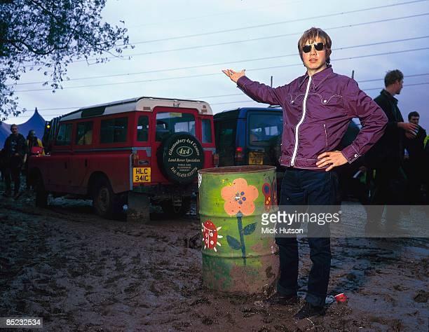 Beck at Glastonbury Festival, June 1998.