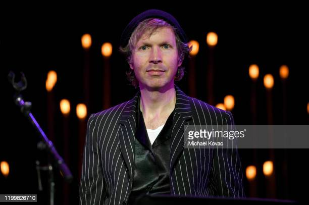 Beck attends CORE Gala A Gala Dinner to Benefit CORE and 10 Years of LifeSaving Work Across Haiti Around the World at Wiltern Theatre on January 15...