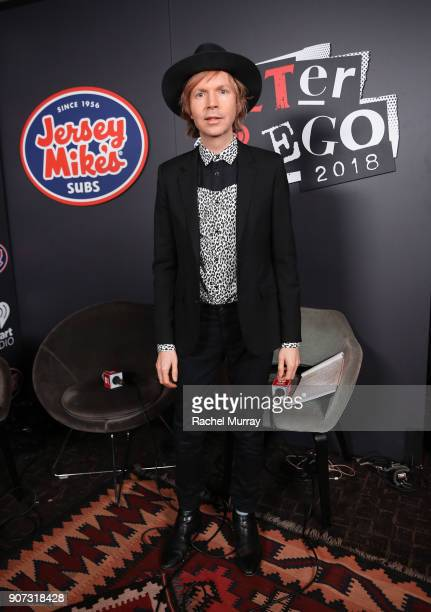 Beck attends iHeartRadio ALTer Ego 2018 at The Forum on January 19 2018 in Inglewood United States