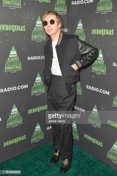 Beck attends KROQ Absolut Almost Acoustic Christmas 2019 at Honda Center on December 07, 2019 in Anaheim, California.