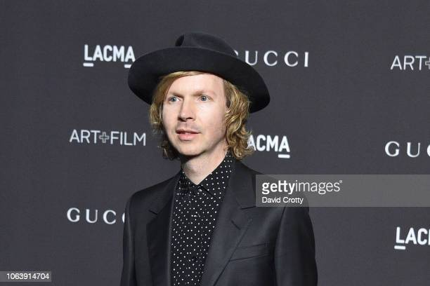 Beck attends LACMA Art Film Gala 2018 at Los Angeles County Museum of Art on November 3 2018 in Los Angeles CA