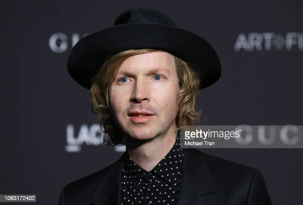 Beck attends the 2018 LACMA Art Film Gala held at LACMA on November 03 2018 in Los Angeles California