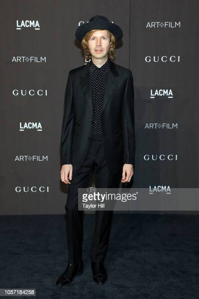 Beck attends the 2018 LACMA ArtFilm Gala at LACMA on November 3 2018 in Los Angeles California