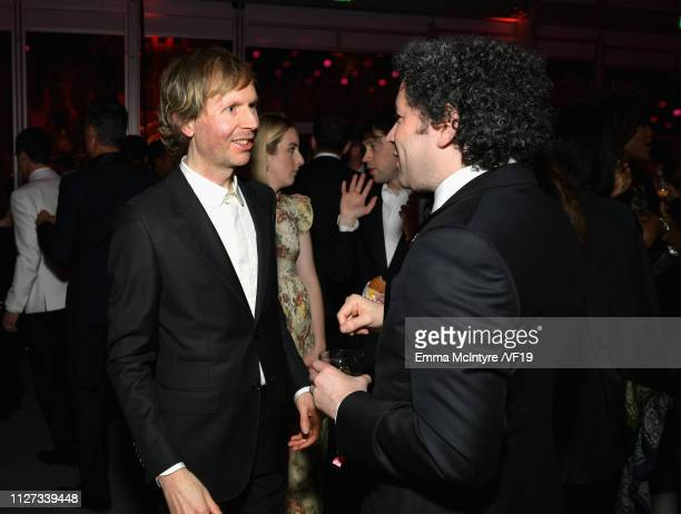 Beck attends the 2019 Vanity Fair Oscar Party hosted by Radhika Jones at Wallis Annenberg Center for the Performing Arts on February 24 2019 in...