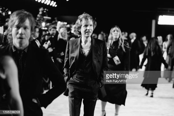 Beck attends the 2020 Vanity Fair Oscar Party hosted by Radhika Jones at Wallis Annenberg Center for the Performing Arts on February 09, 2020 in...