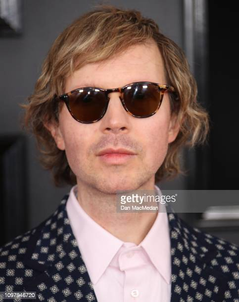 Beck attends the 61st Annual GRAMMY Awards at Staples Center on February 10 2019 in Los Angeles California