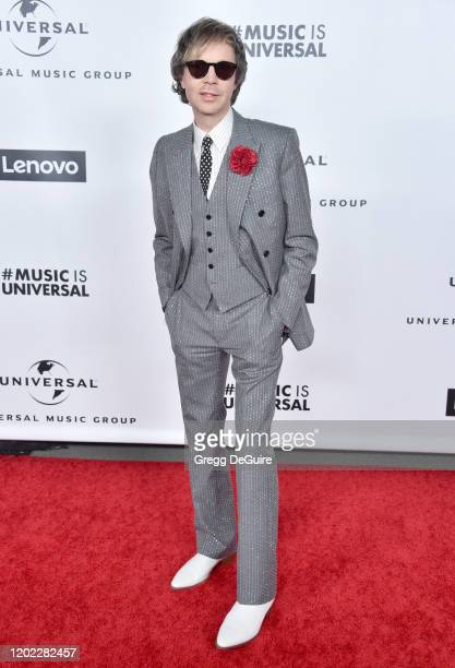 Beck attends the Universal Music Group Hosts 2020 Grammy After Party on January 26 2020 in Los Angeles California