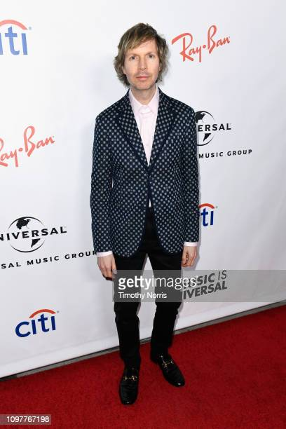 Beck attends Universal Music Group's 2019 After Party Presented by Citi Celebrates The 61st Annual Grammy Awards on February 9 2019 in Los Angeles...
