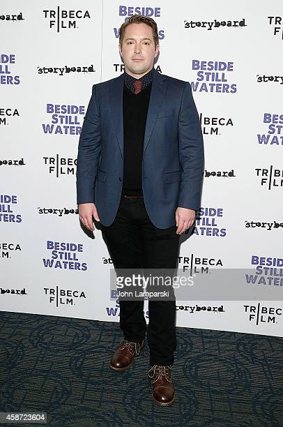 Beck Bennett attends Besides Still Waters New York Premiere at Sunshine Landmark on November 9 2014 in New York City
