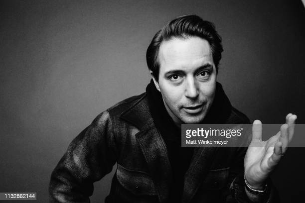 Beck Bennett poses for a portrait on January 28 2019 in Park City Utah