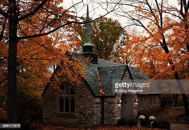 beck chapel - bloomington indiana stock photos and pictures