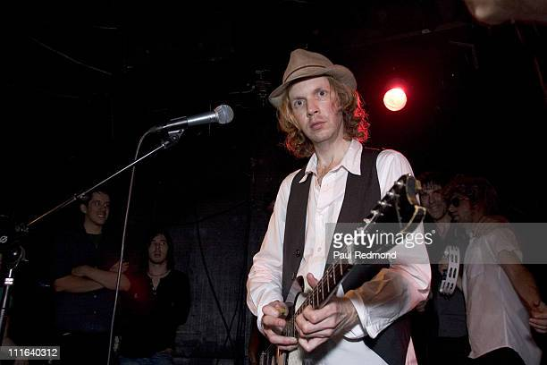 Beck during Beck in Concert at The Fold in Silverlake June 29 2006 at Fold at Silver Lake Lounge in Los Angeles California United States