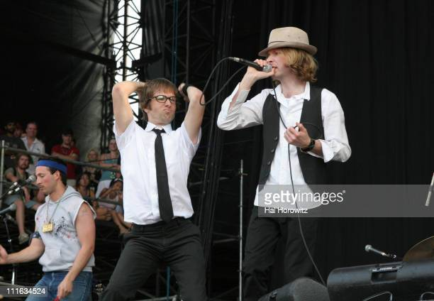 Beck during Bonnaroo 2006 Day 2 Beck at What Stage in Manchester Tennessee United States