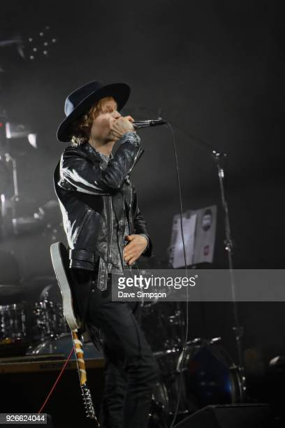 Beck performs at Auckland City Limits Music Festival on March 3 2018 in Auckland New Zealand