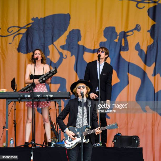 Beck performs at Fair Grounds Race Course on May 4 2018 in New Orleans Louisiana