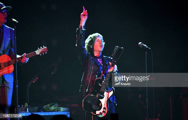Beck performs at Malibu Love Sesh Benefit Concert for victims of the Malibu Fires at the Hollywood Palladium on January 13 2019 in Hollywood CA