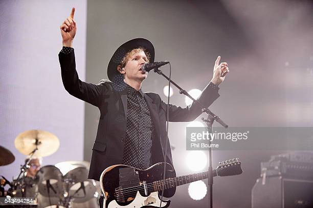 Beck performs at O2 Academy Brixton on June 28 2016 in London England
