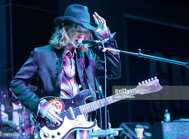 Beck performs during 6th Annual GM Ten - Show in Los Angeles, California, United States.
