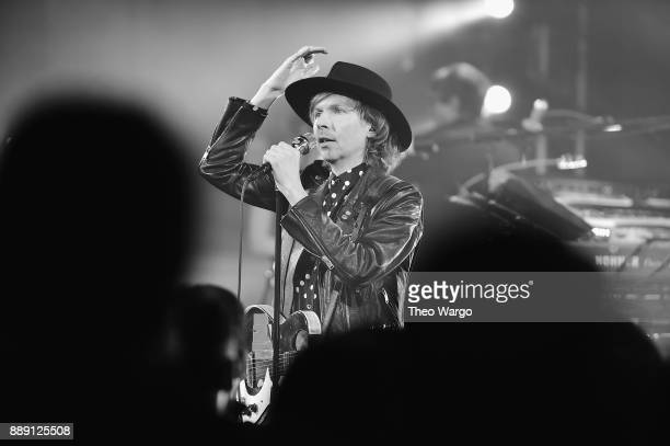 Beck performs for fans and Hilton Honors members as part of Music Happens Here at Spring Studios on December 9 2017 in New York City