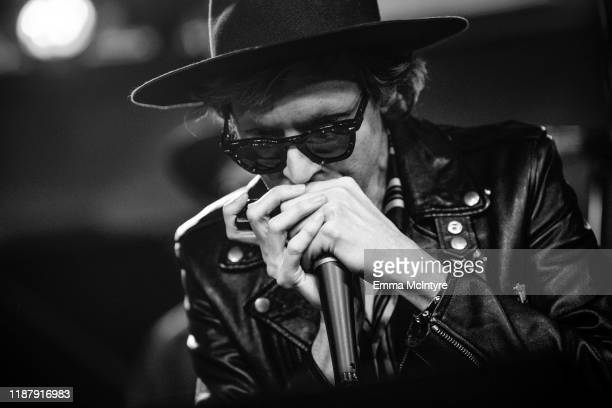 Beck performs on SiriusXM's The Spectrum at SiriusXM Studios on December 10 2019 in Los Angeles California