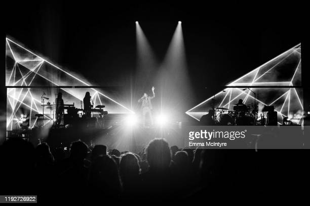 Beck performs onstage at KROQ Absolut Almost Acoustic Christmas 2019 Day 1 at Honda Center on December 07 2019 in Anaheim California