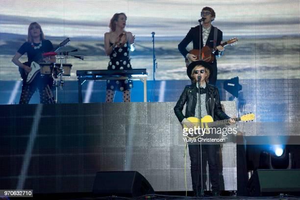 Beck performs onstage at the Northside Festival on June 9 2018 in Aarhus Denmark