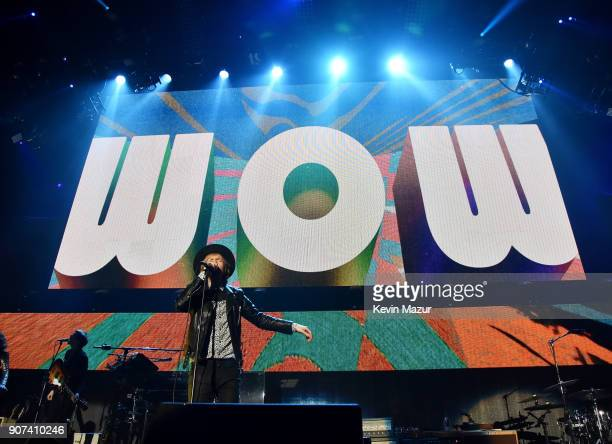 Beck performs onstage during iHeartRadio ALTer Ego 2018 at The Forum on January 19 2018 in Inglewood United States