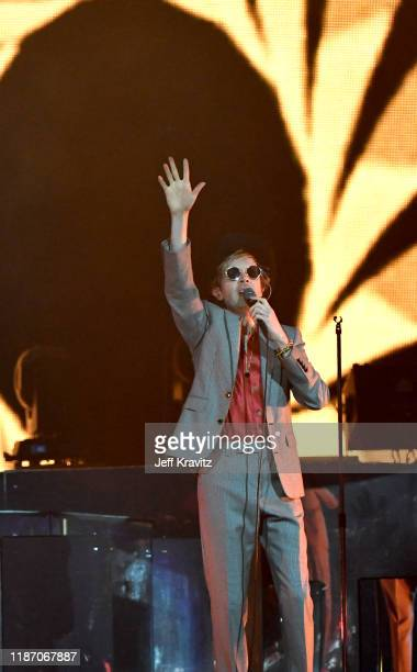 Beck performs onstage during KROQ Absolut Almost Acoustic Christmas 2019 at Honda Center on December 7 2019 in Anaheim California