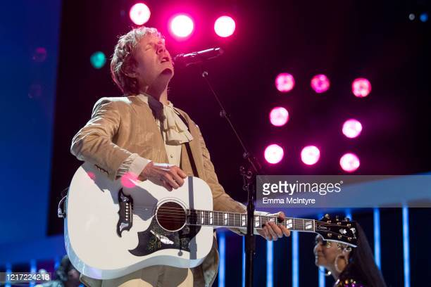 """Beck performs onstage during the 62nd Annual GRAMMY Awards """"Let's Go Crazy"""" The GRAMMY Salute To Prince on January 28, 2020 in Los Angeles,..."""