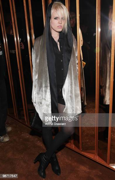 Becka Diamond attends the after party for NOWNESS Arthouse Films' special screening of JeanMichel Basquiat The Radiant Child at the Top of The...