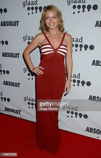 Becki Newton during 18th Annual GLAAD Media Awards Los Angeles Arrivals at Kodak Theatre in Hollywood California United States