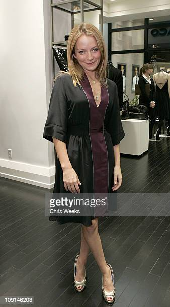 Becki Newton during Club Monaco Hosts Cashmere and Cocktails at Club Monaco in Beverly Hills CA United States