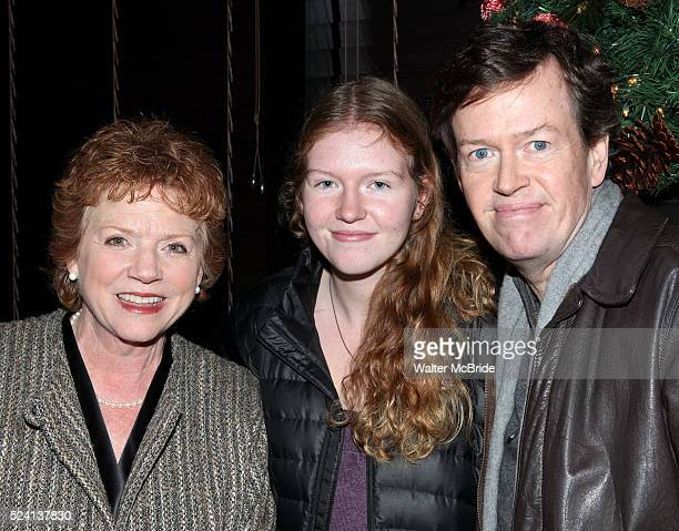 Becky Ann Baker Willa Baker Dylan Baker attending the Opening Night After Party for the Playwrights Horizons World Premiere Production of 'The Great...