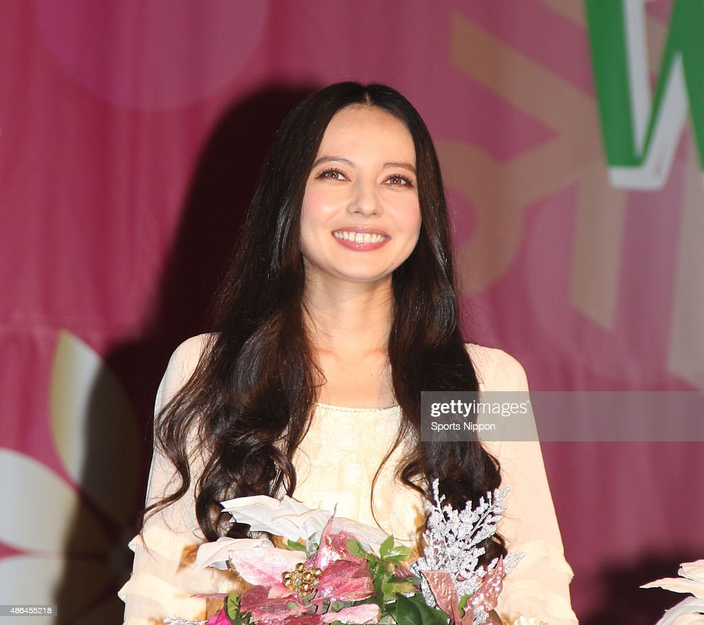 Becky Attends Light-up Ceremony in Tokyo : News Photo