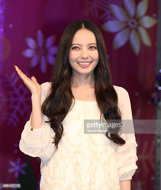 Becky attends Christmas Lightup ceremony of the Sunshine City Ikebukuro on Nonember 1 2013 in Tokyo Japan