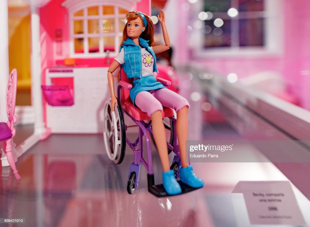 Barbie's Exhibition in Madrid : News Photo