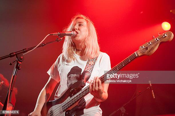 Becky Blomfield of Milk Teeth performs at Electric Ballroom on December 8 2016 in London England