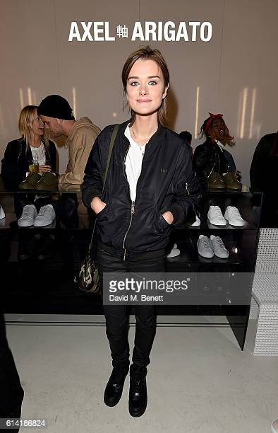Becky Donnelly attends the Axel Arigato London store launch on October 12 2016 in London England