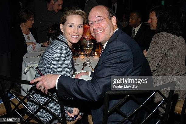 Becky Fleischer and Ari Fleischer attend The Spirit of Jimmy V Gala at Pier 60 on April 22 2005 in New York City
