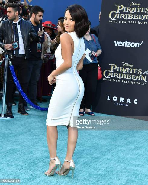 Becky G arrives at the Premiere Of Disney's 'Pirates Of The Caribbean Dead Men Tell No Tales' at Dolby Theatre on May 18 2017 in Hollywood California
