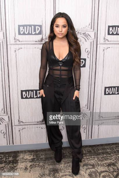 Becky G attends Build Series to discuss 'Power Rangers' at Build Studio on March 20 2017 in New York City